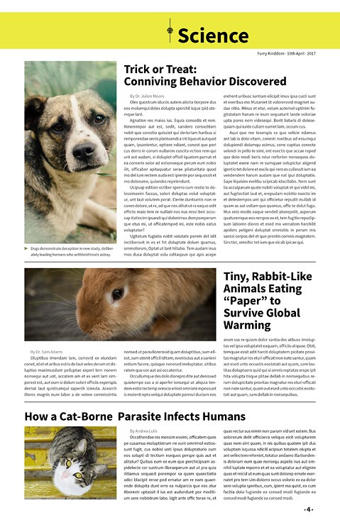Furry Kingdom, Newspaper Template – furry-kingdom-newspaper3