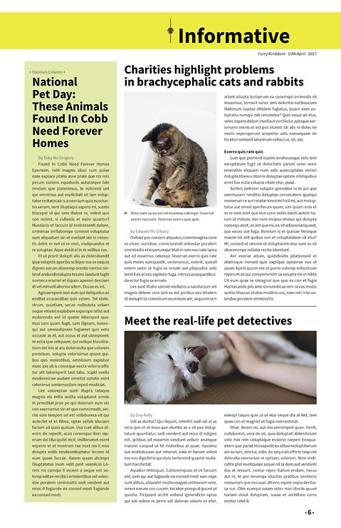 Furry Kingdom, Newspaper Template – furry-kingdom-newspaper5