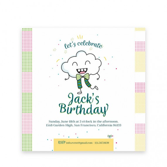 Happy Sunshine Day Template Pack – digital-invitation-2