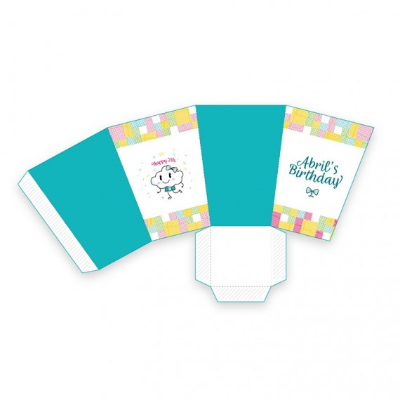 Happy Sunshine Day Template Pack – popcorn-box-1