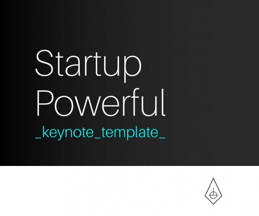 Startup Powerful, Plantilla de Negocios para Keynote By Clabii on Pagephilia