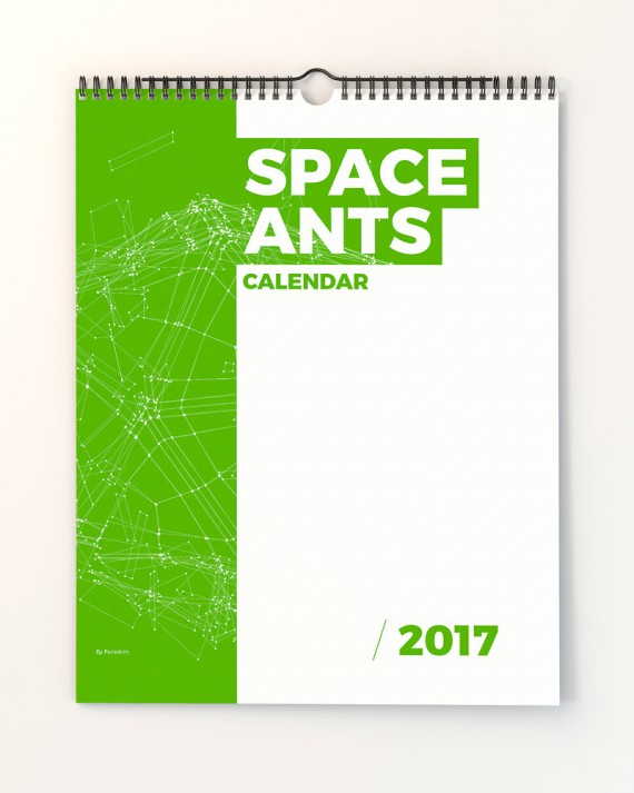Space Ants Calendar Template – space-ants-calendar-template-page-01