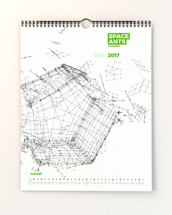 Space Ants Calendar Template – space-ants-calendar-template-page-02