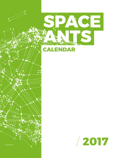 Space Ants Calendar Template By Fenixkim on Pagephilia