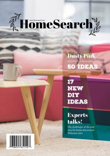 Homesearch, Plantilla de Revista Para InDesign By Jose on Pagephilia