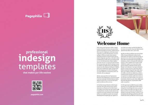 Homesearch, Plantilla de Revista Para InDesign – homesearch-magazine-template2