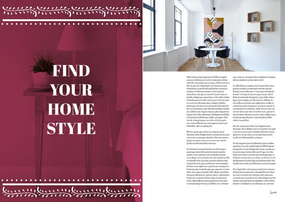 Homesearch, Plantilla de Revista Para InDesign – homesearch-magazine-template6