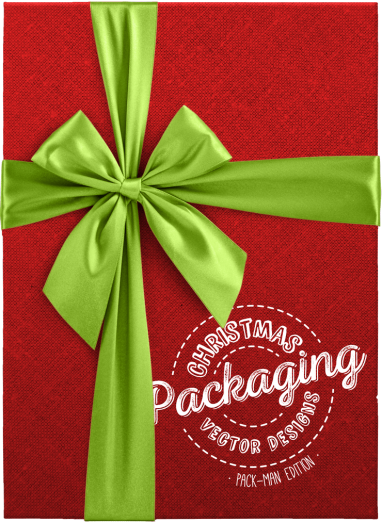 Christmas Packaging Vector Designs (Pack-Man Edition) By Ktyellow on Pagephilia