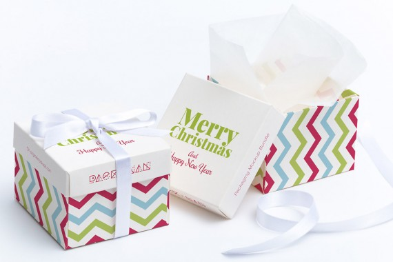 Christmas Packaging Vector Designs (Pack-Man Edition) – cube-gift-box-mockup-01