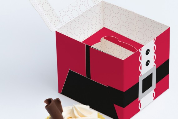 Christmas Packaging Vector Designs (Pack-Man Edition) – one-cupcake-box-mockup-02