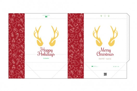 Christmas Packaging Vector Designs (Pack-Man Edition) – shopping-bag-mockup-4-blueprint