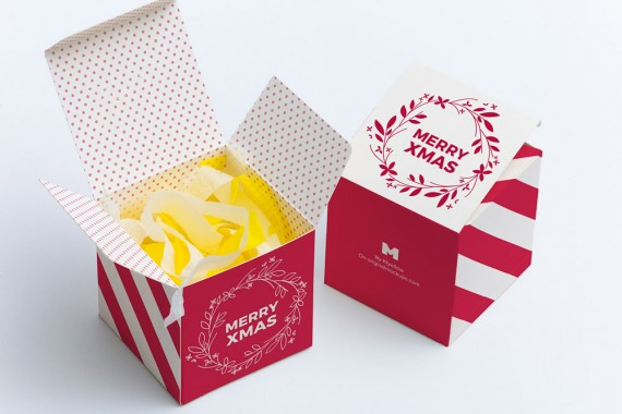 Christmas Packaging Vector Designs (Pack-Man Edition) – soft-paper-cube-gift-box-mockup-01