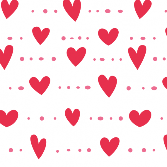Heartbeat, Seamless Vector Patterns for Saint Valentine's Day – heartbeat-pattern-for-saint-valentines-day-ktyellow-04