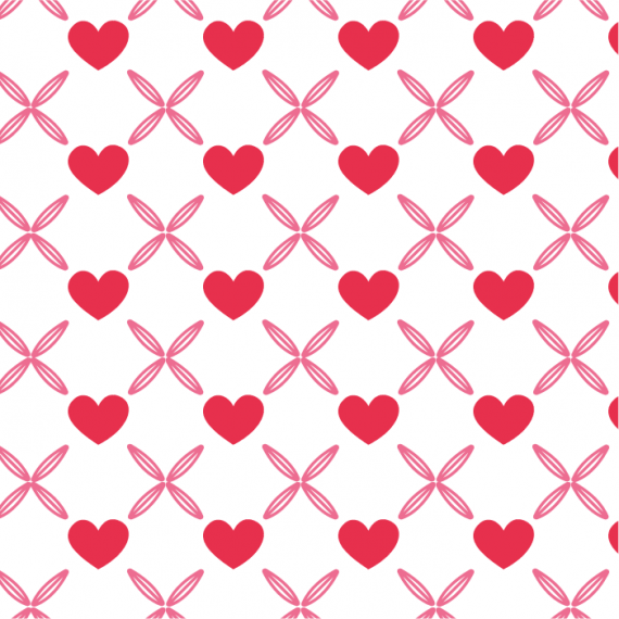 Heartbeat, Seamless Vector Patterns for Saint Valentine's Day – heartbeat-pattern-for-saint-valentines-day-ktyellow-09