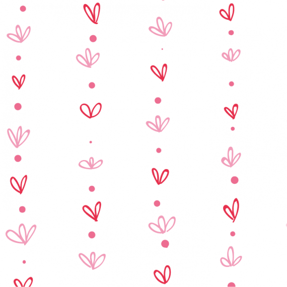 Heartbeat, Seamless Vector Patterns for Saint Valentine's Day – heartbeat-pattern-for-saint-valentines-day-ktyellow-11