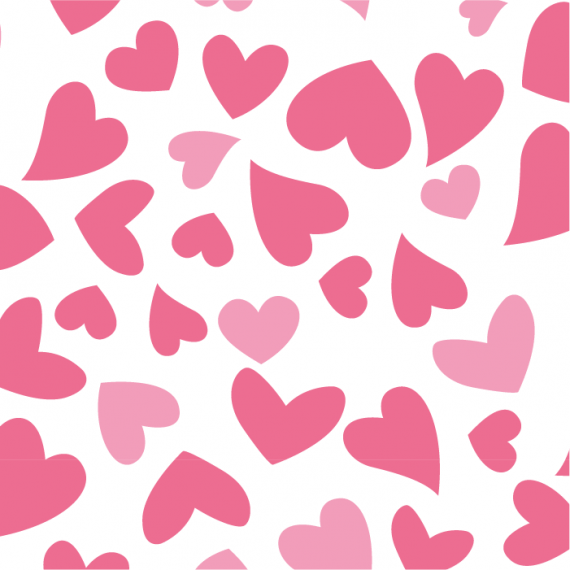 Heartbeat, Seamless Vector Patterns for Saint Valentine's Day – heartbeat-pattern-for-saint-valentines-day-ktyellow-14