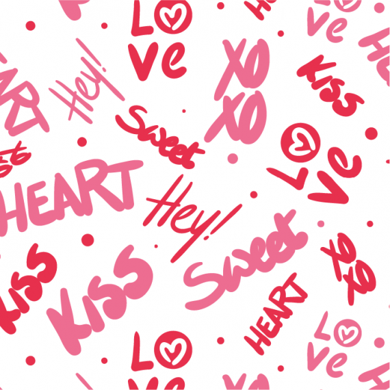Heartbeat, Seamless Vector Patterns for Saint Valentine's Day – heartbeat-pattern-for-saint-valentines-day-ktyellow-20