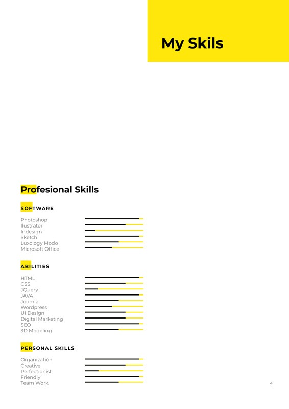 I'm, Resume CV Template – im-resume-cv-template-4