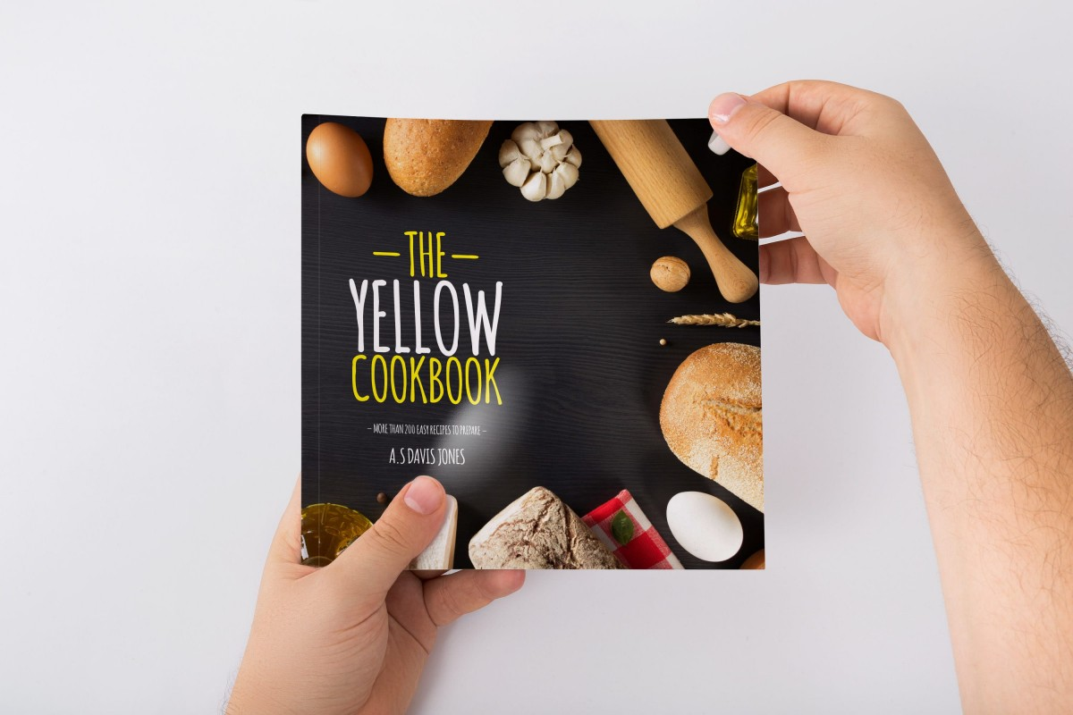 make your own cookbook template