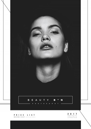 Beauty B*N Brochure Template By Luz Viera  (Suriblossom) on Pagephilia