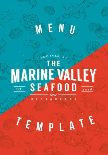Marinevalley Stationery Template for Restaurant By Luz Viera  (Suriblossom) on Pagephilia