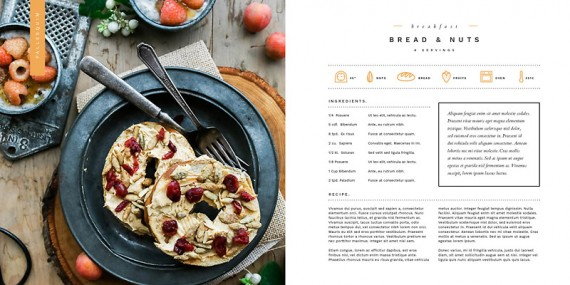 Simple Life, Plantilla de un Recetario de Cocina – simple-life-cookbook-template5