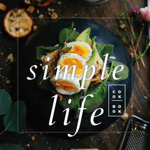 Simple Life Cookbook Template By Luz Viera  (Suriblossom) on Pagephilia
